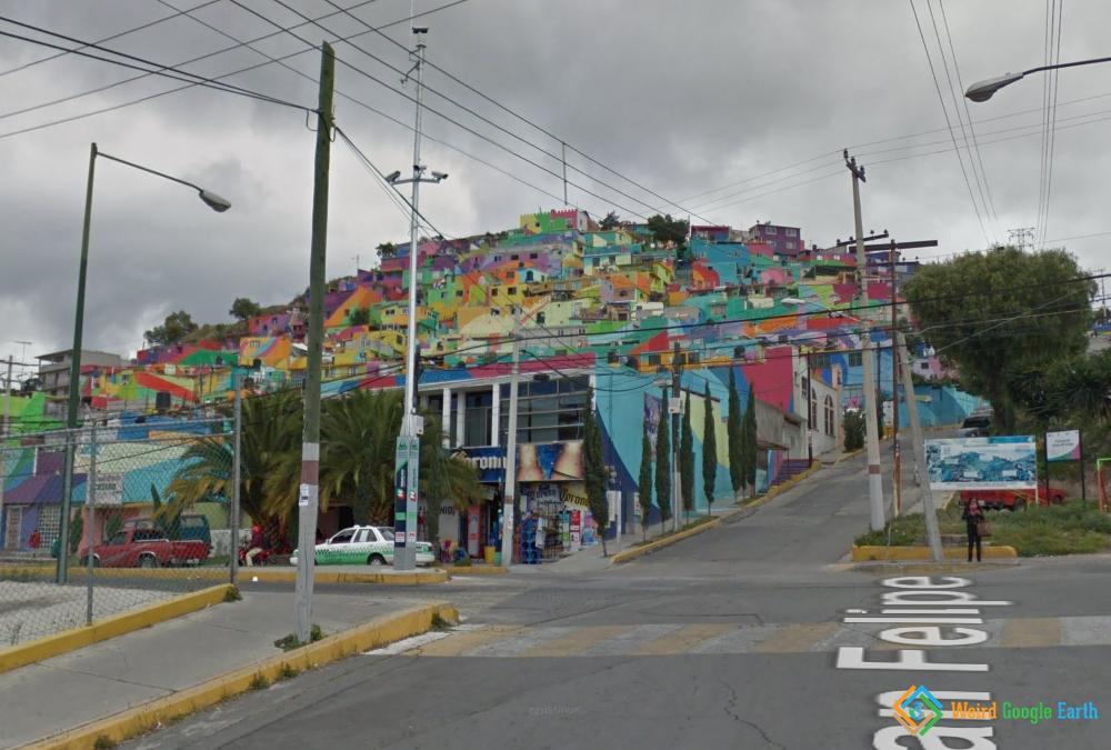 Macromural de Pachuca, Pachuca de Soto, Mexico