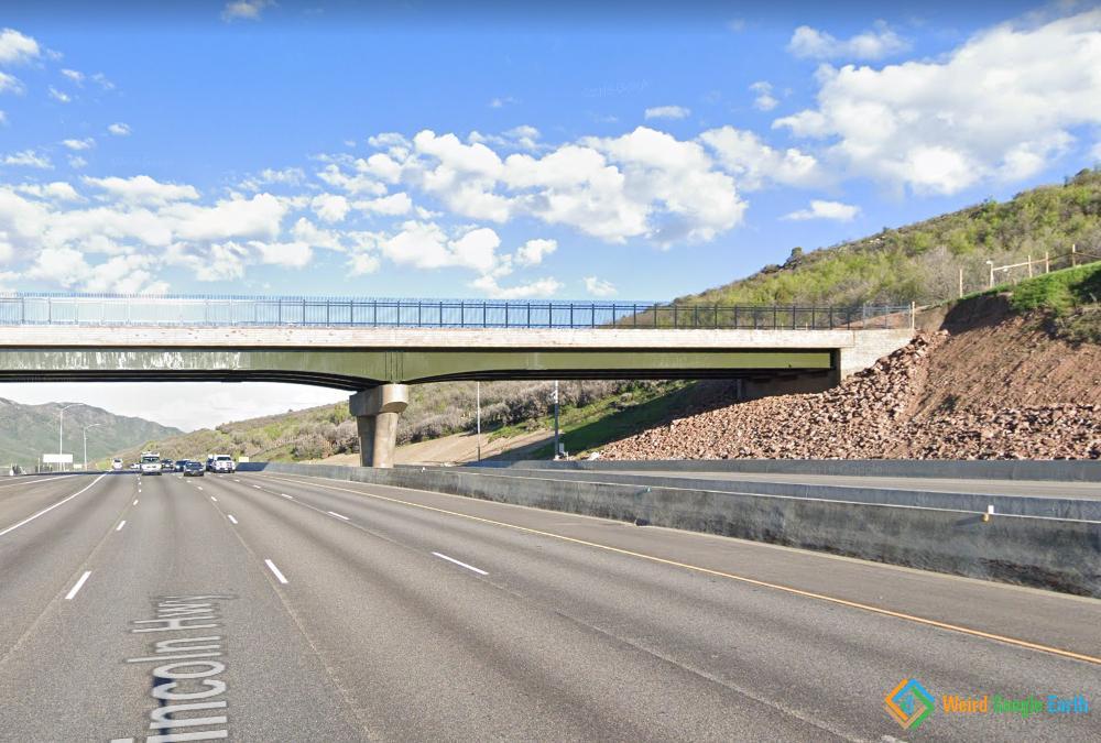 Wildlife Overpass, Park City, Utah, USA