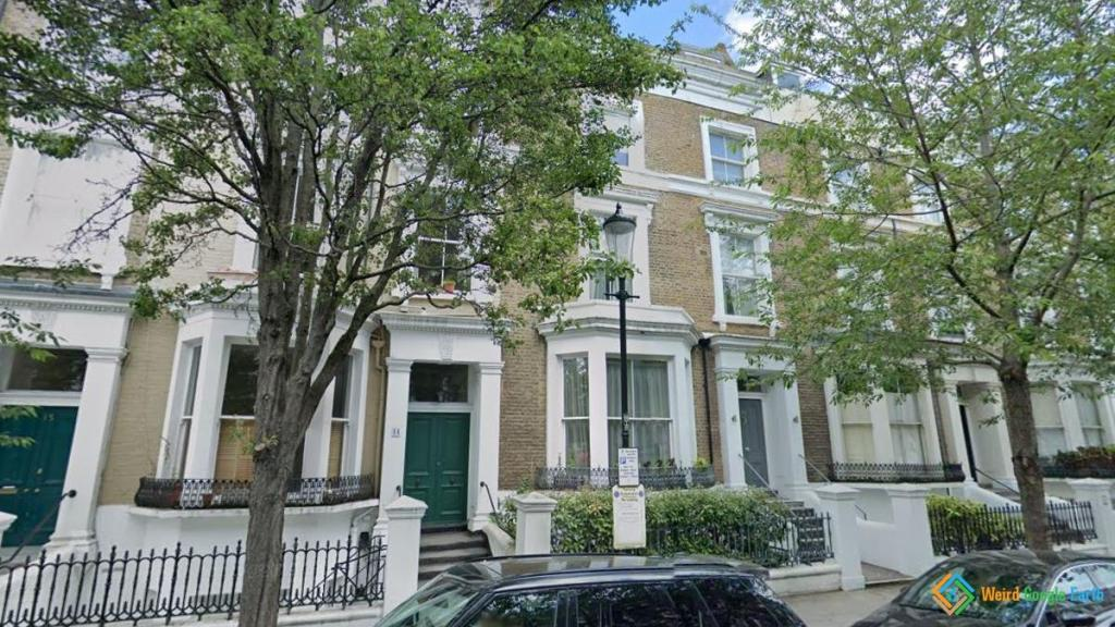 Alan Rickman's House, London, England