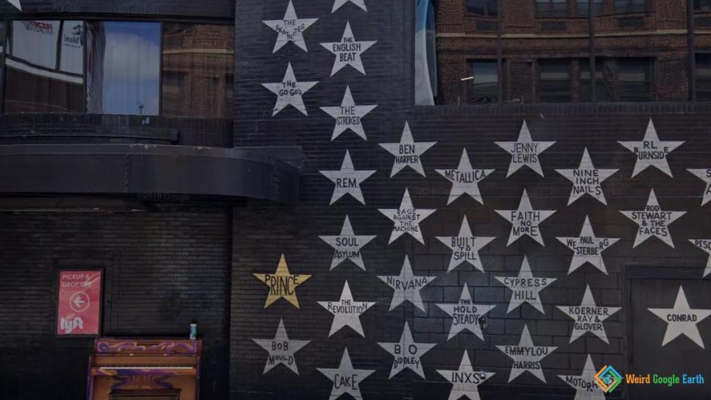Prince's Star, Minneapolis, Minnesota, USA