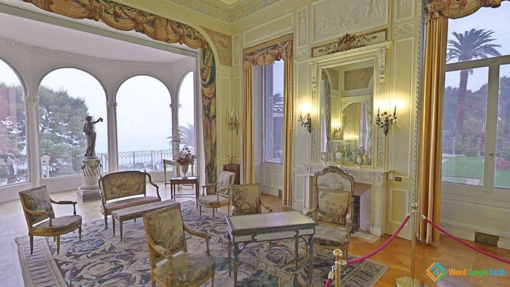 Villa Ephrussi de Rothschild , Saint-Jean-Cap-Ferrat, France