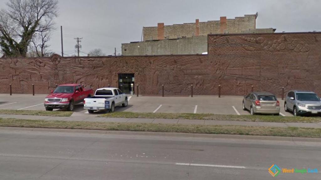 Whole Wall Mural, Concordia, Kansas, USA