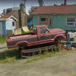 Modified Truck, Yellowknife, Northwest Territories, Canada