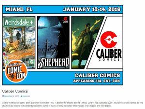 Paradise City Comic Con on January 12-14, 2018