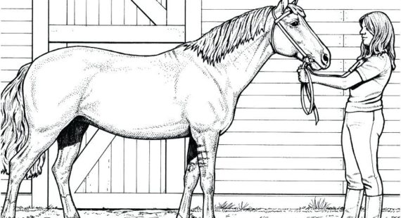 Coloring Pages Of Horses Printable Weirdwarworld