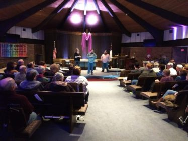The Weisenheimers perform at the First Congregational United Church of Christ