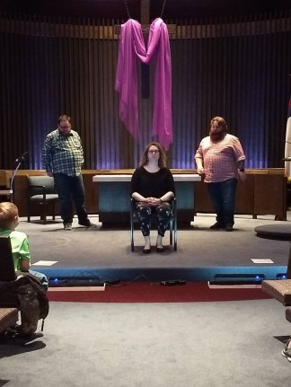 Improv comedy  at the First Congregational United Church of Christ