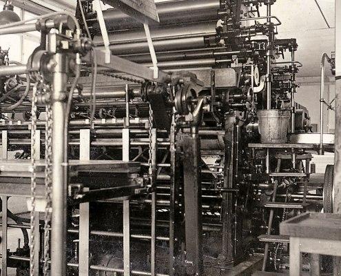 Offsetmaschine, 1930
