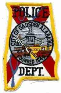 Gadsden Police Patch