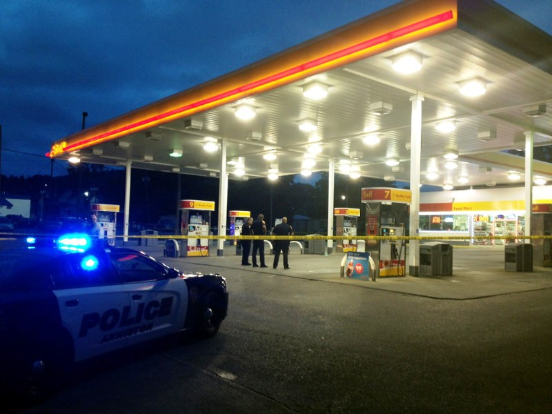 Anniston Gas Station Shooting