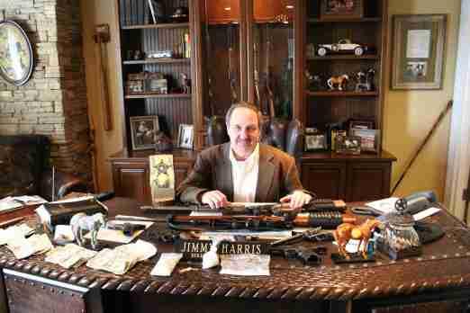 jimmy harris stolen firearms