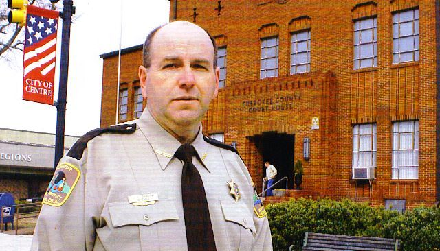 Cherokee County Sheriff Jeff Shaver