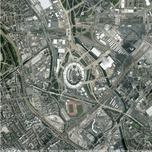 London 2012 Olympic Stadium Google Map Example 4