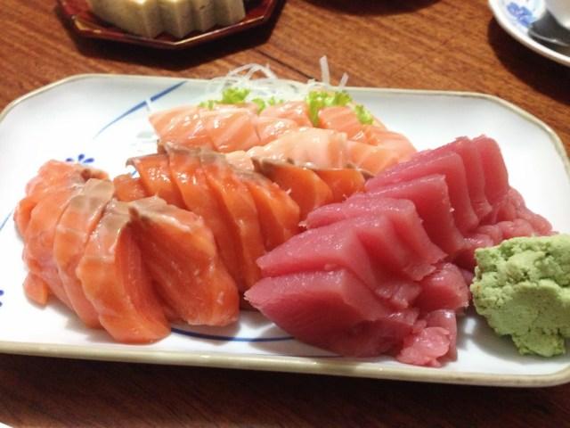 ปลาแซลมอน กับปลาโอ เน้นๆ อีกที