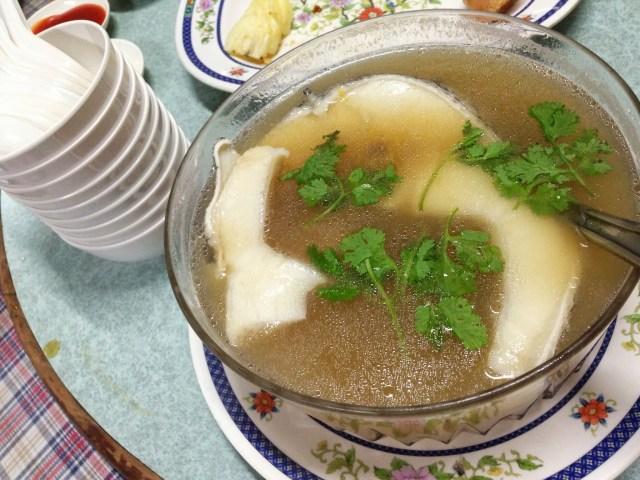ปลาหิมะตุ๋นยาจีน