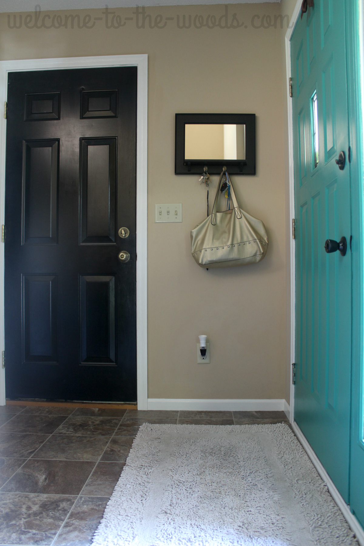 Entryway Makeover Part 3 Interior Paint Welcome To The