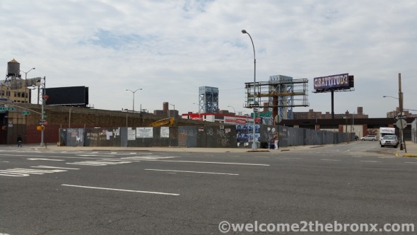 Site of future hotel on 135th  and 3rd Avenue in the Lower Concourse Rezoning District