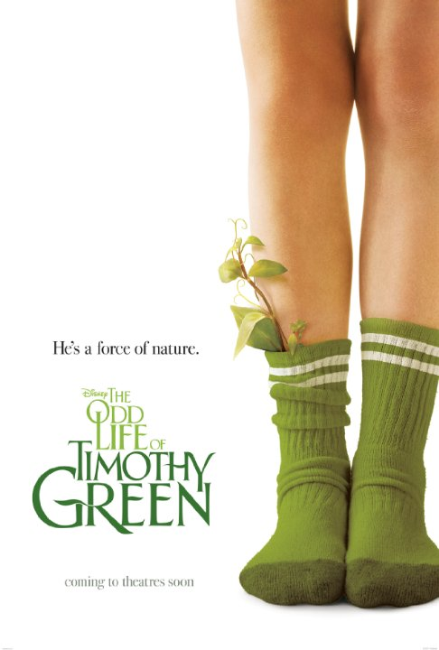 A childless couple bury a box in their backyard, containing all of their wishes for an infant. Soon, a child is born, though Timothy Green is not all that he appears.