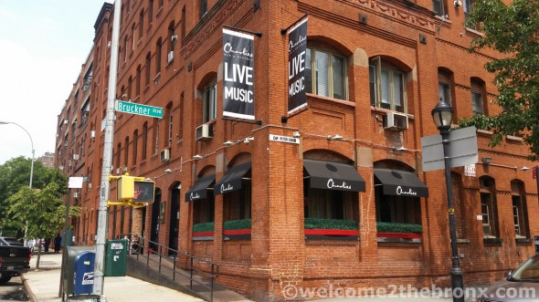 Charlie's, formerly known as The Clocktower, is one of several popular watering holes and restaurants along Bruckner Boulevard.
