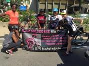 The awesome crew from Black Girls Do Bike!!! / Photo credit: Elizabeth Hamby