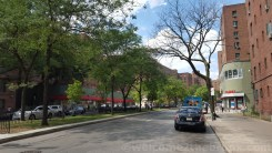 Metropolitan Avenue, the main street of Parkchester.