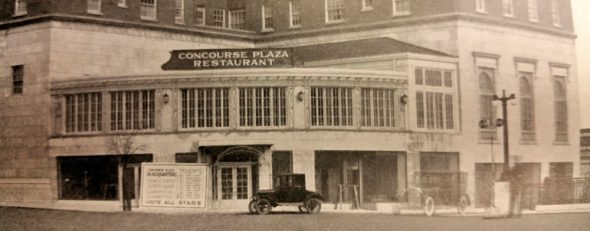 The Concourse Plaza Hotel/ Image via No Longer Empty