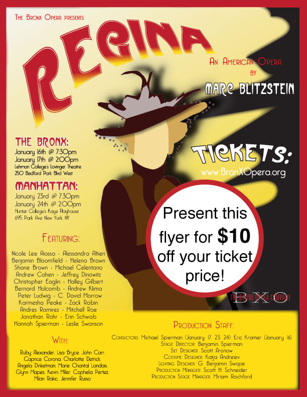 Get A Discount To The Bronx Opera Company S Upcoming
