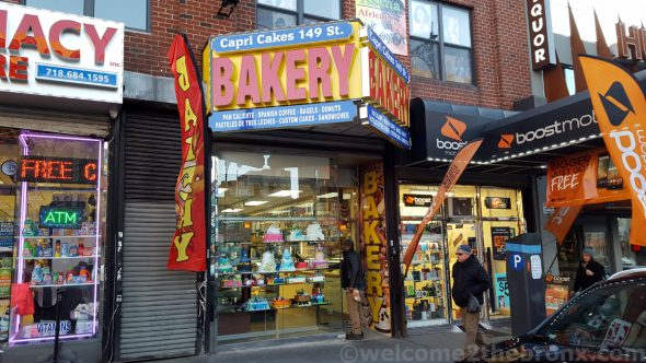 East Harlem's Capri Bakery is now open in Melrose on 149th Street.