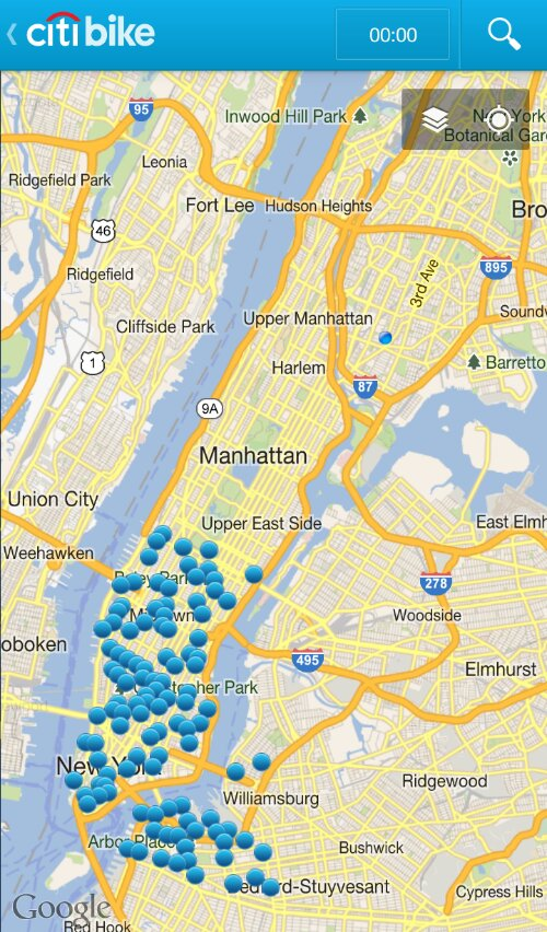 The Most Racist Map You Ll See In Nyc Courtesy Of Citibike