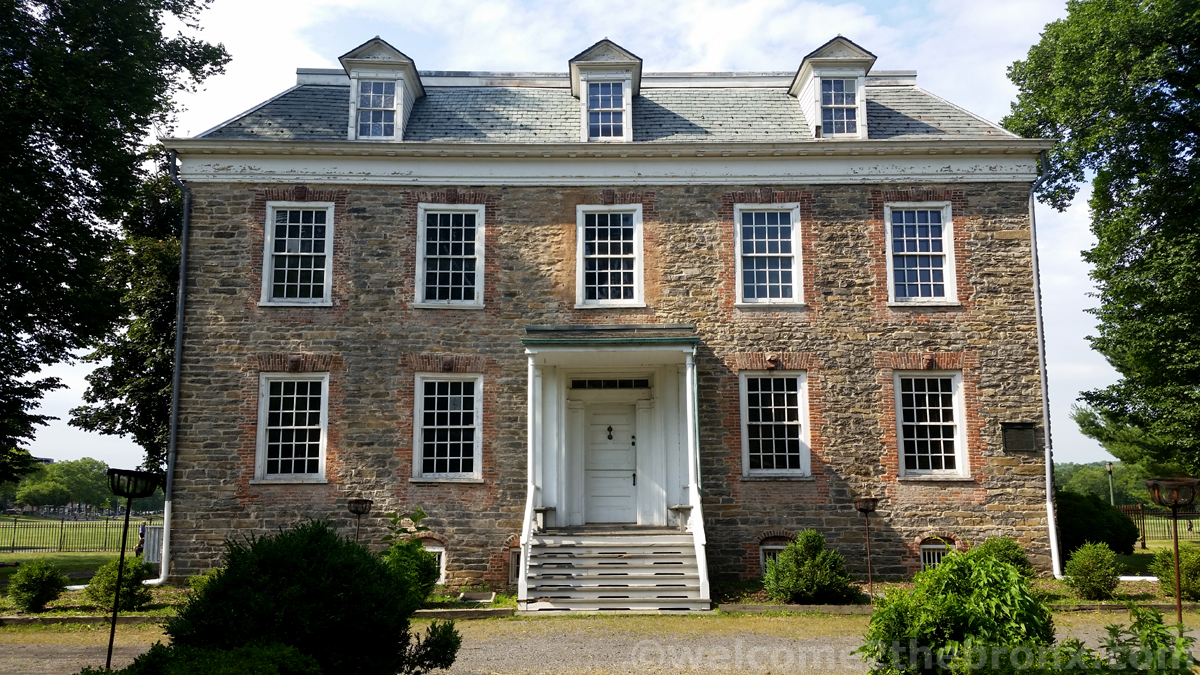 Van Cortlandt House, where President George Washington slept at least twice and also where he began his journey from into Manhattan to re-capture New York from British rule thus ending their control in America.