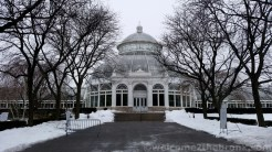 The beautiful Enid A. Haupt Conservatory — a New York City and National Landmark