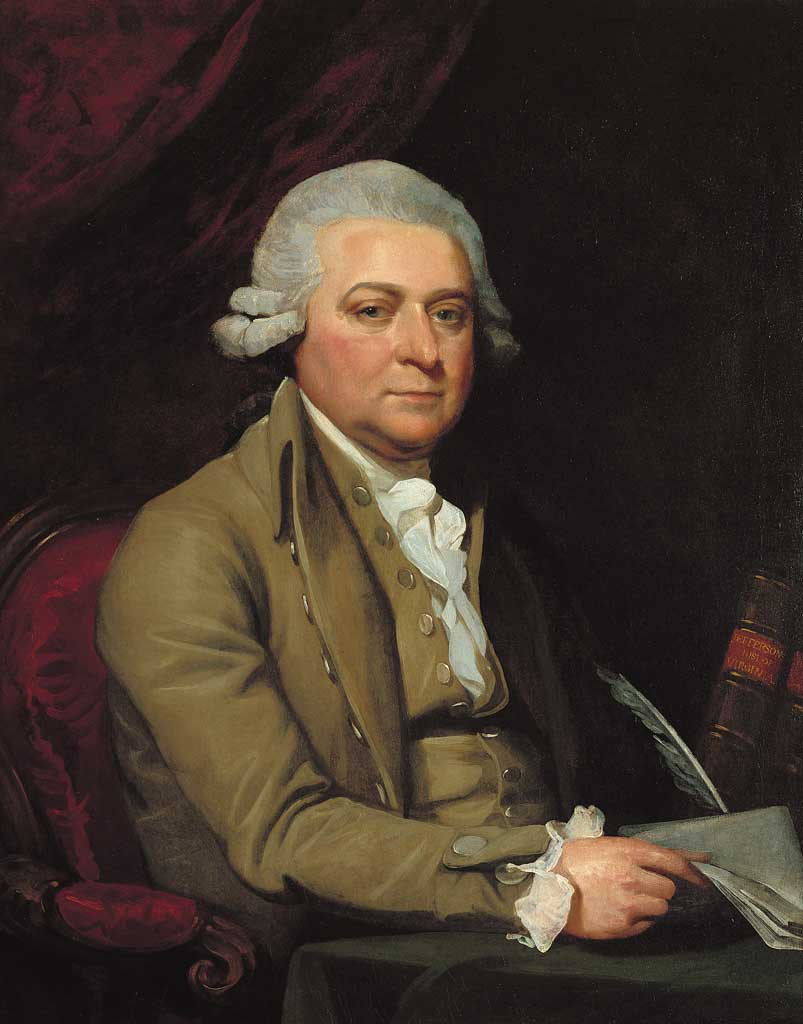 Our nation's first vice-president and second president, John Adams
