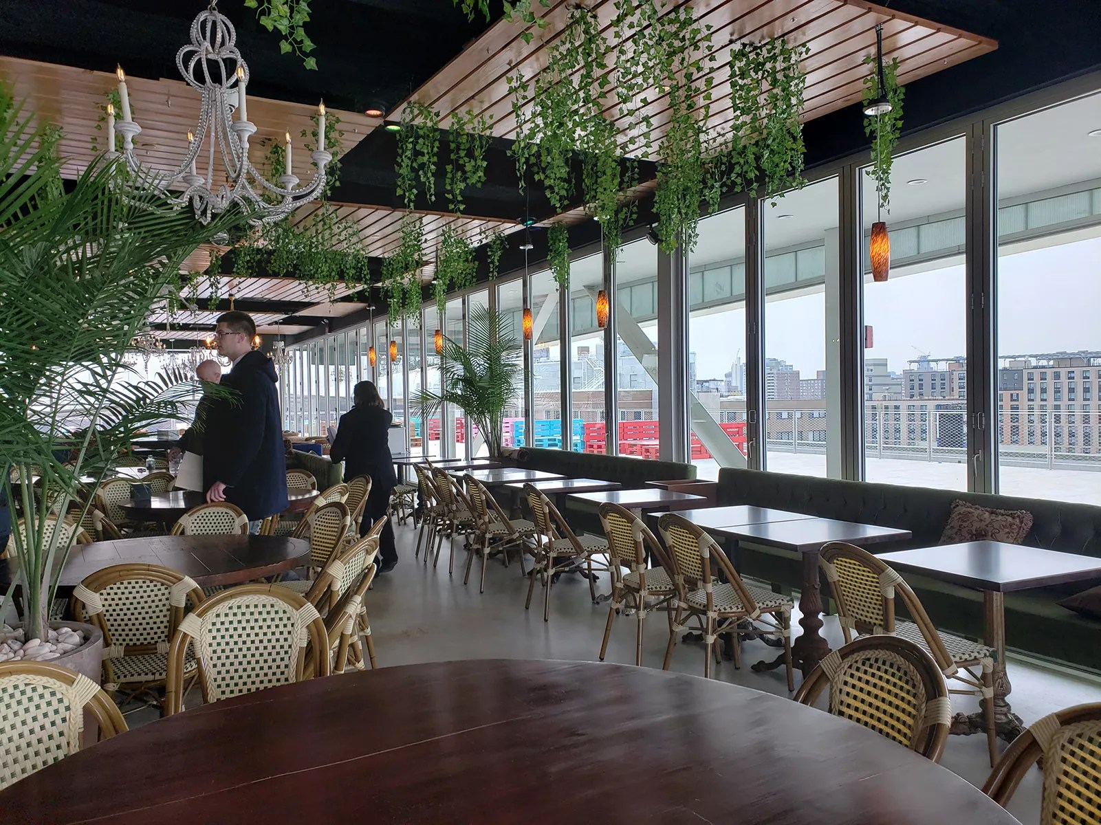 Watch The Bronx S First Rooftop Restaurant Opens Today