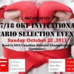 OKF #2 Oct 22-2017 tournament information