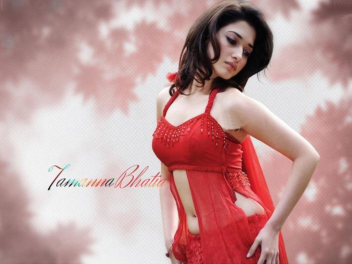 Hot Actress Tamanna Hot Photos in saree
