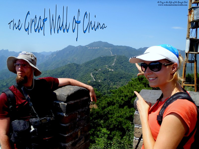 Selfies Through Asia | Mutianyu section of the Great Wall of China | www.welcometoerinsworld.com