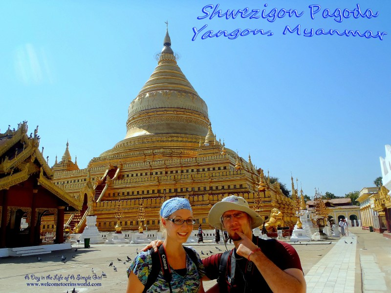 Selfies Through Asia | Shwezigon Pagoda, Bagan, Myanmar (Pagan, Burma) | www.welcometoerinsworld.com