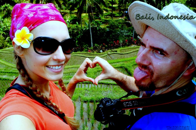 Selfies Through Asia | Tegallalang Rice Terrace, Ubud, Bali, Indonesia | www.welcometoerinsworld.com