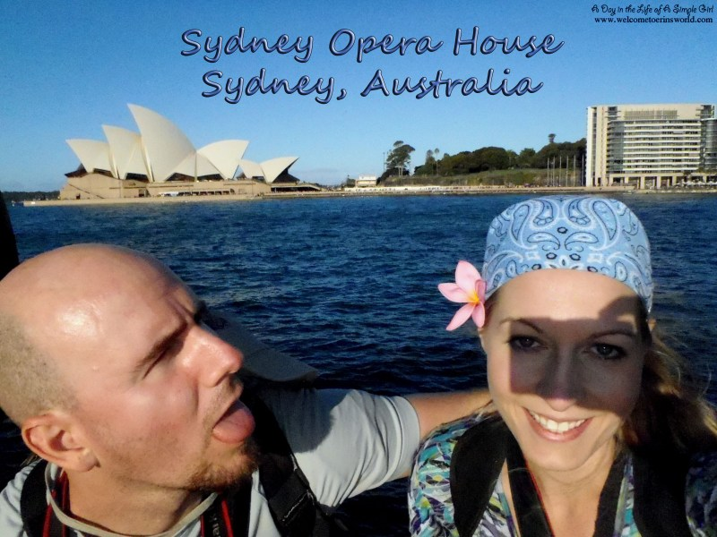 Selfies Through Asia | Sydney Opera House, Sydney, Australia | www.welcometoerinsworld.com