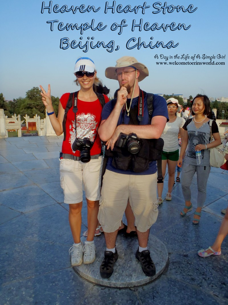 Selfies Through Asia | Heaven Heart Stone, Temple of Heaven, Beijing, China | www.welcometoerinsworld.com