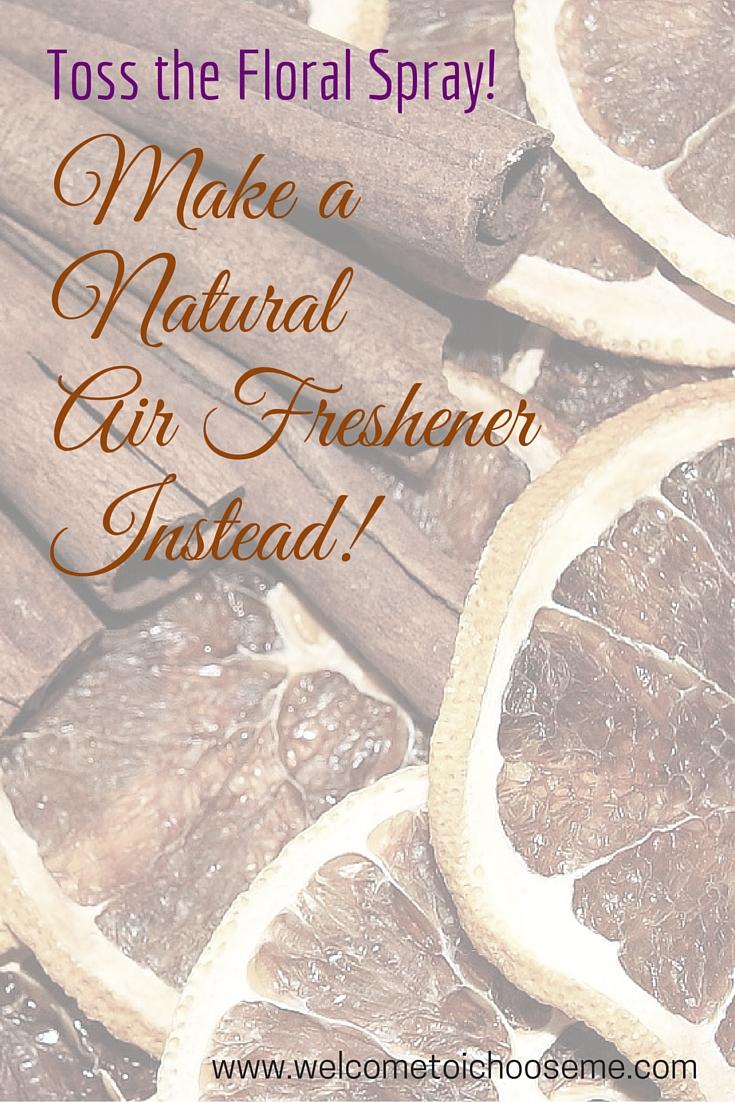 Natural Air Freshener - I Choose Me