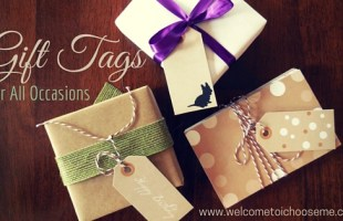 Gift Tags for All Occasions – Printable Set