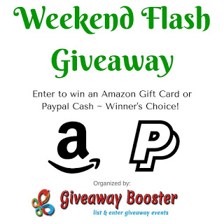 Enter for a chance to win: $50 Amazon Gift Card Or PayPal Cash