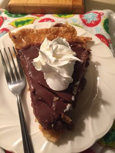 Pioneer Woman's Chocolate Pie