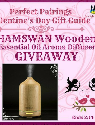 HAMSWAN Wooden Essential Oil Aroma Diffuser Giveaway