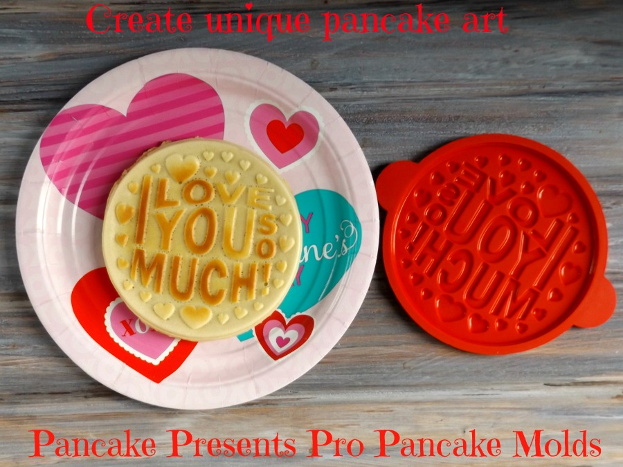 Create unique pancake art with Pancake Presents Pro Pancake Molds