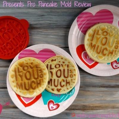 Pancake Presents  Pro Pancake Mold Review