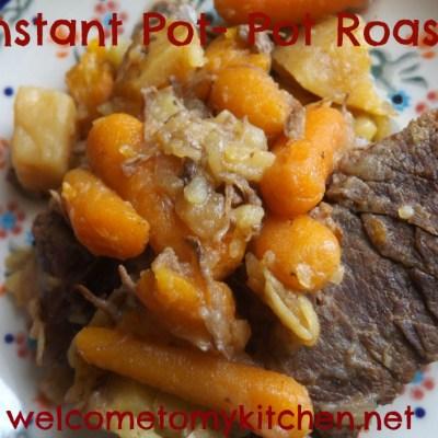 My New Instant Pot- Pot Roast Recipe
