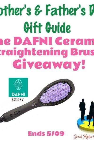 DAFNI Ceramic Straightening Brush Giveaway