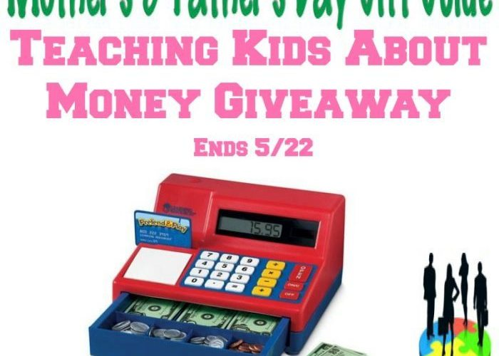 Teaching Kids About Money Giveaway